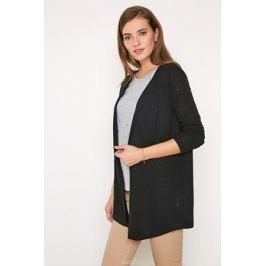Кардиган женский Concept Club Rufos, цвет: черный. 10200130126_100. Размер XL (50)