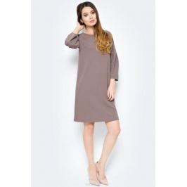Платье женское Sela, цвет: серо-коричневый. DK-117/1180-8121. Размер M (46)