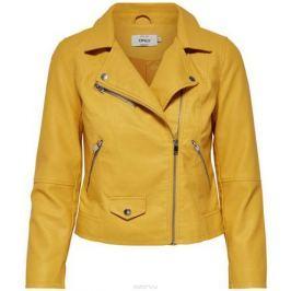 Куртка женская Only, цвет: желтый. 15144751_Yolk Yellow. Размер 38 (44)