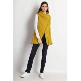 Жилет утепленный женский Finn Flare, цвет: желтый. B18-12011_432. Размер M (46)