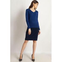 Джемпер женский Finn Flare, цвет: синий. B18-11120_103. Размер XL (50)