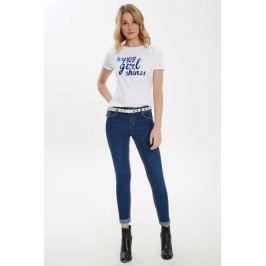 Футболка женская Concept Club Gang, цвет: белый. 10200110294_200. Размер XL (50)