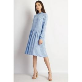 Платье Finn Flare, цвет: голубой. B18-32031_138. Размер S (44)