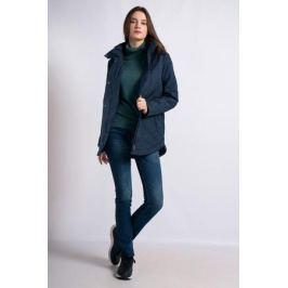 Куртка женская Finn Flare, цвет: темно-синий. B18-12017_101. Размер L (48)