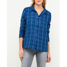 Рубашка женская Lee, цвет: синий. L45RKQFE. Размер M (44)