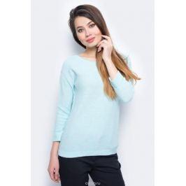 Джемпер женский Sela, цвет: бирюзовый. JR-114/698-8111. Размер XXL (52)
