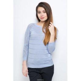 Джемпер женский Sela, цвет: голубой. JR-114/688-8111. Размер XS (42)