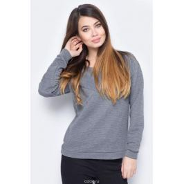 Свитшот женский Vero Moda, цвет: серый. 10190181_Medium Grey Melange. Размер M (44)
