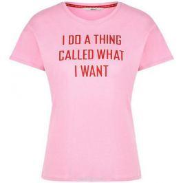Футболка женская Only, цвет: розовый. 15153529_Prism Pink. Размер S (42)
