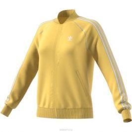 Толстовка женская adidas Sst Tt, цвет: желтый. CE2397. Размер 42 (48)