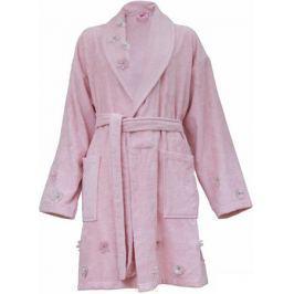 Халат женский Hobby Home Collection Janet, цвет: светло-розовый. 15010008. Размер S (42/44)