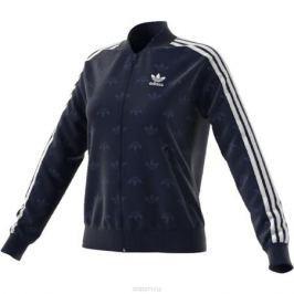 Толстовка женская adidas Sst Track Top, цвет: темно-синий. CD6918. Размер 42 (48)