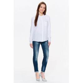 Рубашка женская Top Secret, цвет: белый. SKL2476BI. Размер 42 (50)