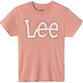 Футболка женская Lee, цвет: розовый. L41KRSEA. Размер XS (40)