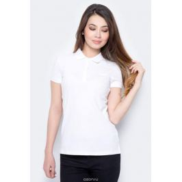 Поло женское Sela, цвет: белый. Tsp-111/339-8182. Размер XXS (40)
