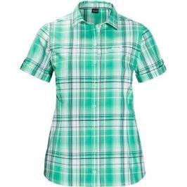 Рубашка женская Jack Wolfskin Maroni River Shirt W, цвет: зеленый. 1402411-7734. Размер XXL (56)