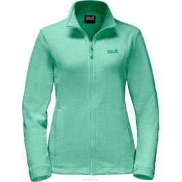 Толстовка женская Jack Wolfskin Kiruna W, цвет: зеленый. 1704511-4091. Размер XXL (56)