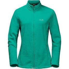 Толстовка женская Jack Wolfskin Moonrise Jacket, цвет: зеленый. 1703881-4071. Размер XXL (56)