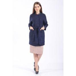 Пальто женское Lusio, цвет: темно-синий. AW18-040003. Размер XS (40/42)