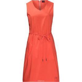 Платье Jack Wolfskin Tioga Road Dress, цвет: коралловый. 1504821-2043. Размер L (50)
