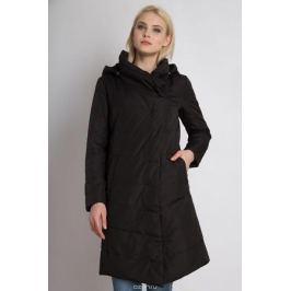 Пальто женское Finn Flare, цвет: черный. B18-32022_200. Размер XL (50)