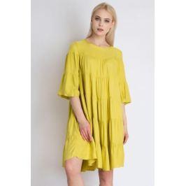 Платье Finn Flare, цвет: желтый. B18-12051_432. Размер M (46)