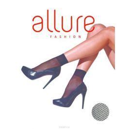 Носки женские Allure Tulle 20, цвет: Nero (черный). Размер универсальный