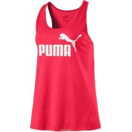 Майка женская Puma ESS Sporty No.1 Tank W, цвет: розовый. 59014318. Размер XL (48/50)