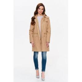 Куртка женская Top secret, цвет: бежевый. SKU0854BE. Размер 42 (50)
