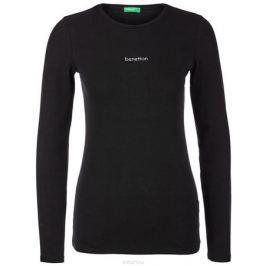 Лонгслив женский United Colors of Benetton, цвет: черный. 3BTME10B7_100. Размер L (46/48)