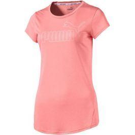 Футболка женская Puma Active Ess No.1 Tee, цвет: коралловый. 83843843. Размер L (46/48)