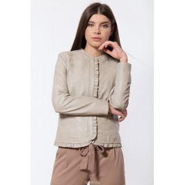 Куртка женская Finn Flare, цвет: бежевый. B18-11809_708. Размер S (44)