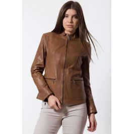 Куртка женская Finn Flare, цвет: коричневый. B18-11811_611. Размер S (44)