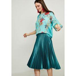 Блузка женская Zarina, цвет: зеленый. 8123514414015. Размер XS (42)