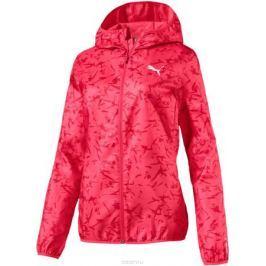 Ветровка женская Puma AOP Windbreaker, цвет: розовый. 85022218. Размер XL (48/50)