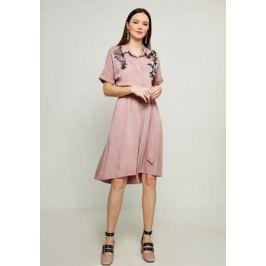 Платье Zarina, цвет: розовый. 8123025528093. Размер 42