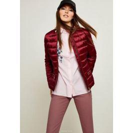 Куртка женская Zarina, цвет: бордовый. 8122400100071. Размер 50