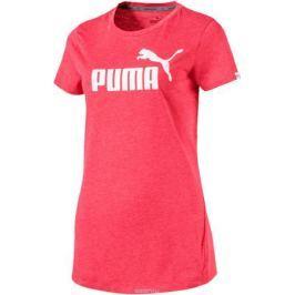 Футболка женская Puma ESS No.1 Tee Heather W, цвет: розовый. 83839918. Размер L (46/48)