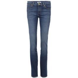 Джинсы женские Wrangler High Rise Slim, цвет: синий. W27GX785U. Размер 33-32 (48/50-32)