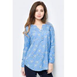 Блузка женская Sela, цвет: голубой. B-112/800-8152. Размер 46