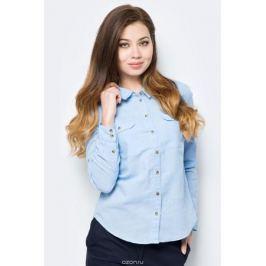 Блузка женская Sela, цвет: голубой. B-112/294-8152. Размер 50