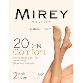 Гольфы женские Mirey Comfort 20 New, цвет: Nero (черный), 2 пары. Размер универсальный