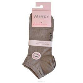 Носки женские Mirey, цвет: светло-серый. MSC 009. Размер (35/37)