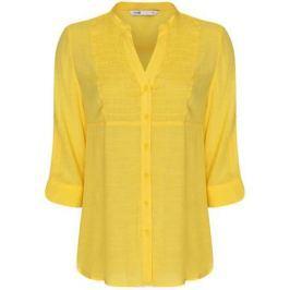 Блузка женская oodji Collection, цвет: желтый. 21412068-2/19984/5200N. Размер 38-170 (44-170)