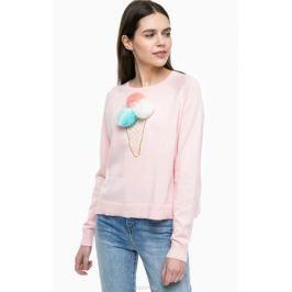 Пуловер женский Only, цвет: розовый. 15150296. Размер S (42)