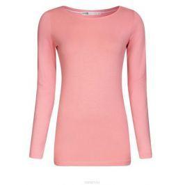 Лонгслив женский oodji Collection, цвет: светло-розовый. 24201007B/46147/4100N. Размер XXL (52)