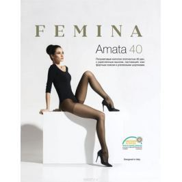 Колготки женские Femina Amata 40, цвет: Nero (черный). Размер 5