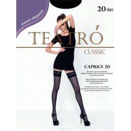Чулки женские Teatro Caprice 20, цвет: Melon (светло-бежевый). Размер 4