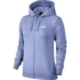 Худи женское Nike Sportswear Hoodie, цвет: сиреневый. 853930-522. Размер M (46/48)