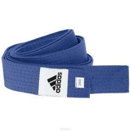 Пояс для единоборств adidas Club, цвет: синий. adiB220. Длина 280 см